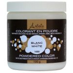 White Powdered Color