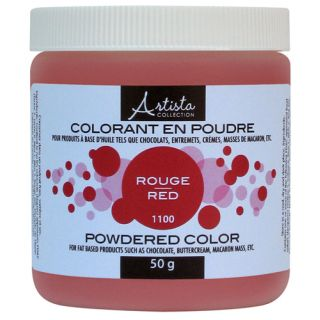 Red Powdered Color