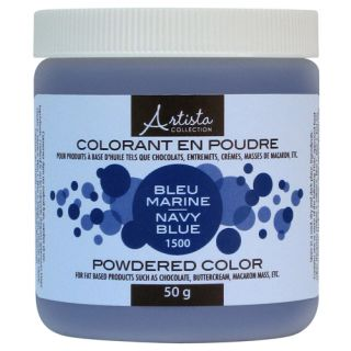Navy Blue Powdered Color