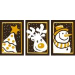 Christmas Triptych Transfer Sheet