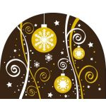 Christmas Ornaments Transfer Sheet